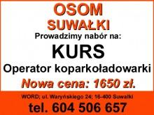 Kursy na koparki, koparkoładowarki i ładowarki w Suwałkach