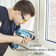 Serwis okien, profesjonalnie, firma z doświadczeniem naprawa drzwi balkonowych wymiana uszczelek