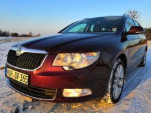 Skoda Superb II 2010r. 1.9tdi
