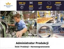 Administrator Produkcji w Fabryce British American Tobacco w Augustowie