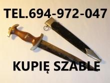 Kupie Wojskowe stare Szable,Bagnety,kordziki,Noże