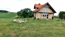 Klimatyczny dom na wzgórzu, jezioro – Jałowo gm. Rutka Tartak