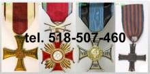 Kupie stare medale, dokumenty, orzełki