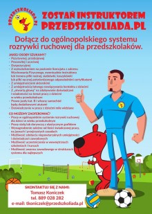 Instruktor Przedszkoliada.pl