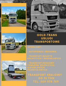 Usługi transportowe autolaweta