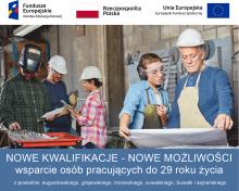 Darmowe szkolenia dla osób pracujących do 29 roku życia