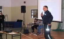 Gmina Filipów. Policjanci spotkali się z uczniami i rodzicami [zdjęcia]