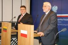 Szefowie MSZ Litwy i Polski o mniejszościach. Obaj zaniepokojeni
