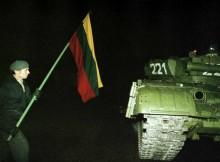 Litwa, Puńsk. Obchody Dnia Obrońców Wolności Litwy