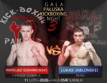 Już w sobotę III Gala Pałuska Kickboxing Night