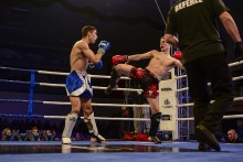 Kick-boxing.Tuzin medali Panzera w Wilnie