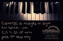 Czwartek z muzyką na żywo w Rozmarino