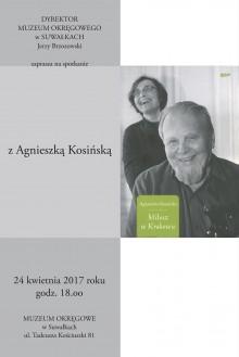 Spotkanie z A. Kosińską