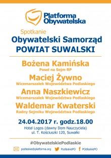 Spotkanie Obywatelski Samorząd