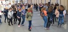 Belgijka na Chłodnej. Wytańczyli rekord Suwałk, ten Guinnessa padnie latem [zdjęcia]