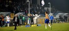 Wigry Suwałki - GKS Tychy 1:0. Biało niebiescy drudzy, przynajmniej do soboty [opinie, zdjęcia]
