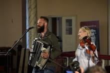 Witek Muzyk Ulicy na rzecz najstarszych organów w Suwałkach [zdjęcia]