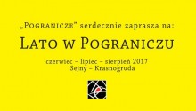 Imprezy w Sejnach i Krasnogrudzie. Lato w Pograniczu
