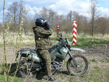 Pogranicznicy doskonalą jazdę motocyklem [zdjęcia]