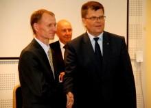 """Gintaras Skamaročius nowym Przewodniczącym Rady Euroregionu """"Niemen"""" [zdjęcia]"""