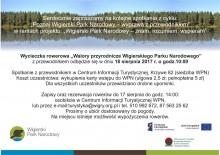 Wycieczka rowerowa Walory przyrodnicze Wigierskiego Parku Narodowego