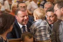Puńsk. Premier Litwy dziękuje władzom powiatu i gratuluje Litwinom w Polsce