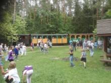 Wykolejenie wagoników kolejki i wypadek w Bachanowie