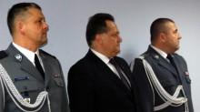 Adam Miezianko nowym Komendantem Miejskim Policji w Suwałkach [zdjęcia]