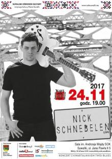 Koncert Nicka Schnebelena