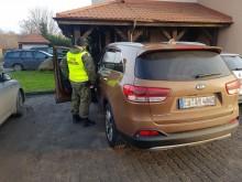 Turek podróżował autem skradzionym w Niemczech