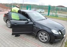 Skradzione w Niemczech jechały przez Polskę [zdjęcia]