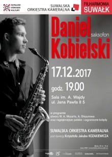 Filharmonia Suwałk: Saksofonowa magia świąt. KONKURS
