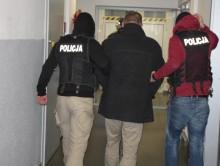 Podejrzewany o zabójstwo w Sejnach został zatrzymany koło Łomży [wideo]
