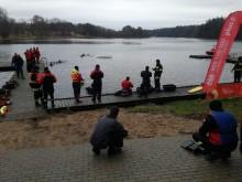 Strażacy szkolili się nad jeziorem Wigry [zdjęcia]