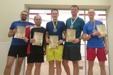 Mikołajkowy Turniej Squash\'a w Olecku. Suwalczanin pokonał miejscowych [zdjęcia]