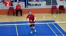 Badminton 54. IMP. Ambitna postawa Filipa Krukowskiego w kwalifikacjach