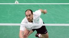 Badminton. Adam, Kieran i Sccott  w Yonex Swiss Open