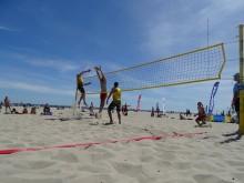 Siatkówka plażowa. Obecny i byli siatkarze Ślepska w Akademickich Mistrzostwach Polski