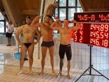 Podlascy terytorialsi wicemistrzami Wojska Polskiego w pływackiej sztafecie
