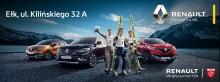W ełckim salonie Renault Łukasik trwa wyprzedaż rocznika 2018