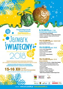 Jarmark świąteczny i wigilia miejska w Suwałkach