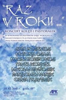 Raz w roku... Koncert kolęd i pastorałek w Augustowie