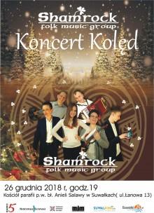 Zespół Shamrock zaprasza do świątecznego kolędowania i prezentuje nowy utwór [wideo]