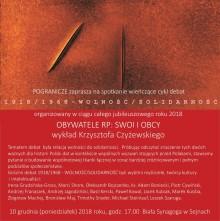 Wolność/Solidarność - 1918/1968  w Sejnach