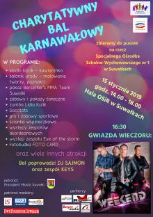Charytatywny bal na rzecz dzieci i młodzieży z SOSW w Suwałkach. Gwiazdą wieczoru będzie Weekend