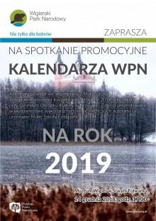 Promocja kalendarza Wigierskiego Parku Narodowego na 2019 rok