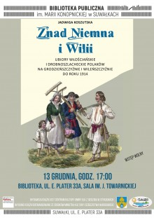 Promocja książki Znad Niemna i Wilii