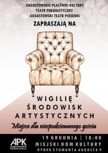 Wigilia Środowisk Artystycznych w Augustowie
