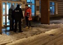 Suwałki. Policjanci i studenci pomagają bezdomnym i samotnym