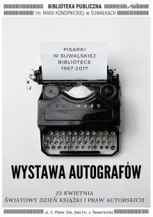 Pisarki w suwalskiej bibliotece. 1967-2017 - wystawa